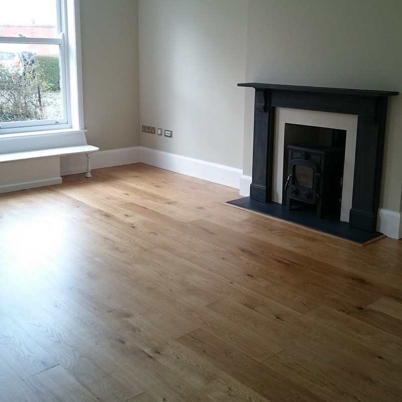 Engineered Character Oak Floor