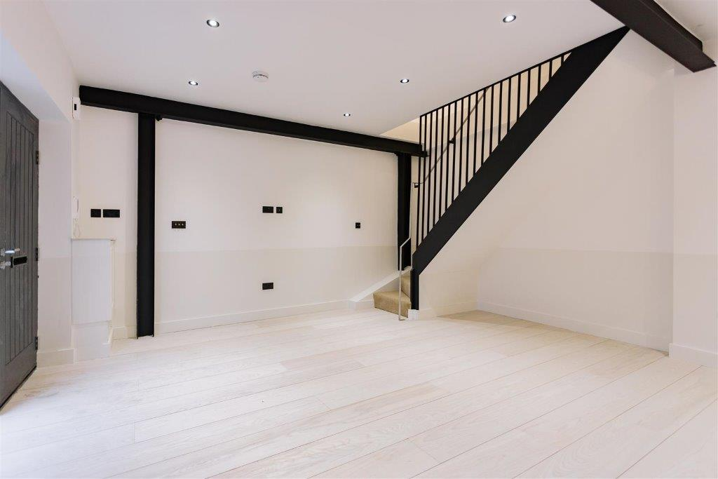 uv oiled american white ash engineered wood flooring in london apartment