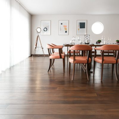 Luxury Wood Flooring In London Restaurant