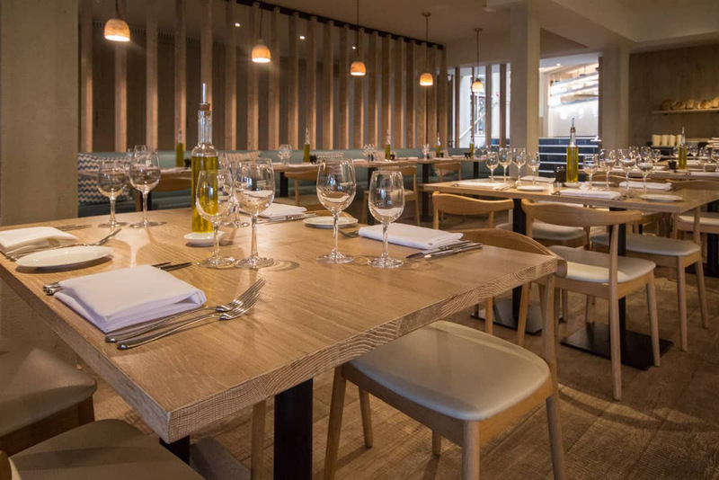 Band Sawn Oak Flooring bespoke flooring for Rick Stein's