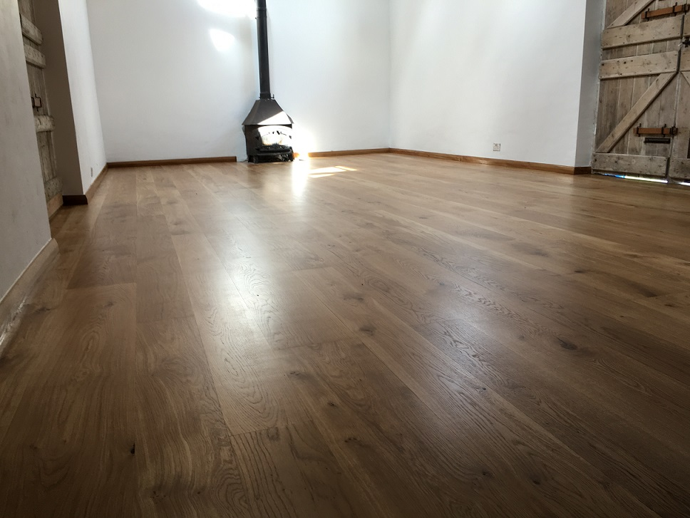 Character Engineered Oak Floor - British Bespoke Manufacturer