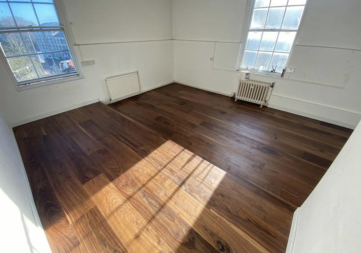 engineered black walnut wide plank flooring uk manufacturer bespoke