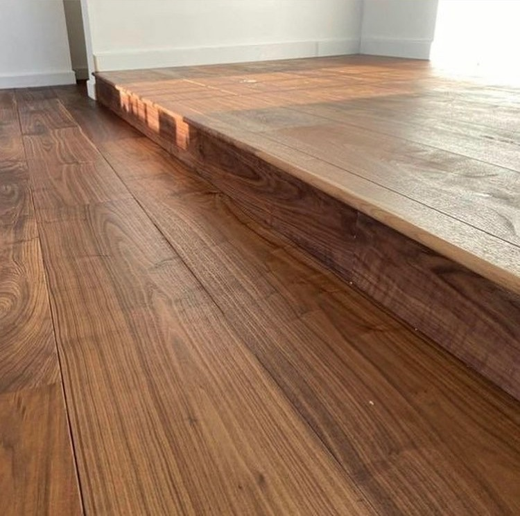 American Black Walnut engineered flooring