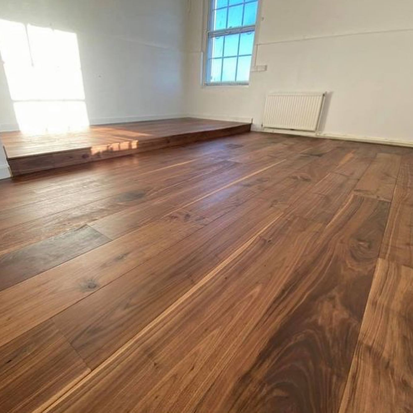 Engineered American Black Walnut Flooring