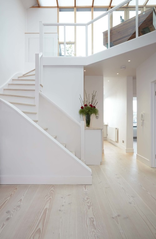 Douglas Fir Flooring White Lye & Soap finish