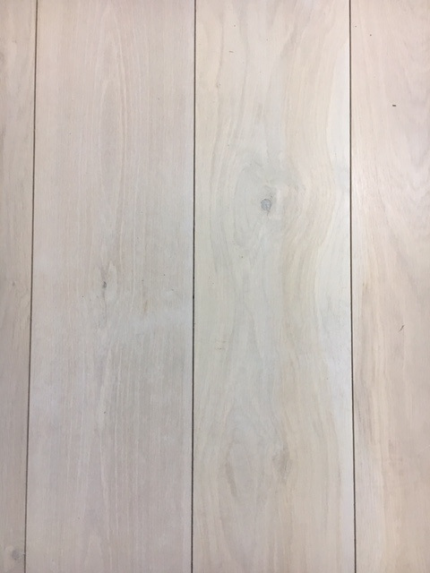 ship deck style white limed oak
